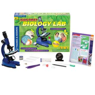 KIDS FIRST BIOLOGY LAB 13 PIECES 11 EXPERIMENTS 32 MANUAL PAGES