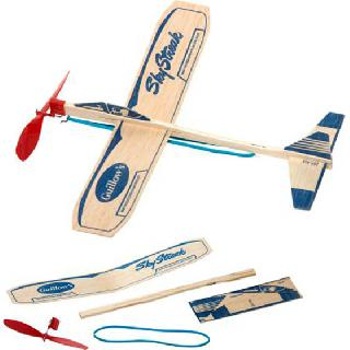 GLIDER 16IN WINGSPAN BALSA RUBBER POWERED