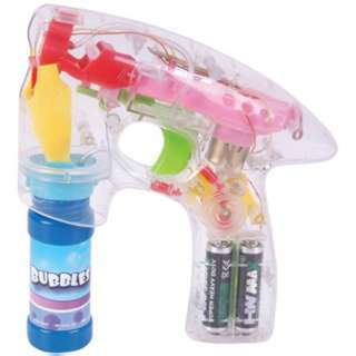 BUBBLE GUN LED FLASHES 7 INCH 
