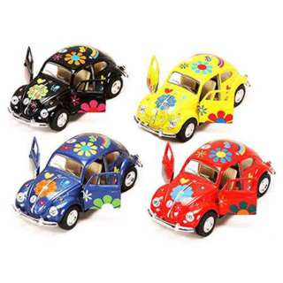 VOLKSWAGEN BEETLE PULL BACK ACTION ASSORTED COLOURS