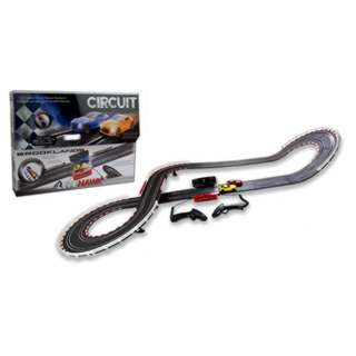 LITEHAWK CIRCUIT-BROOKLANDS CAR RACING WITH TRACK & WIRED REMOTE