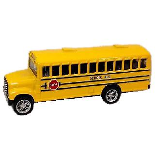 BUS SCHOOL YELLOW 5 INCH 