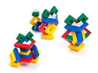 MINI WEDGITS BUILDING BLOCKS DOG SET 25PCS/SET