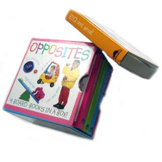 BOARD BOOKS-OPPOSITES 4 BOARD BOOKS IN A BOX