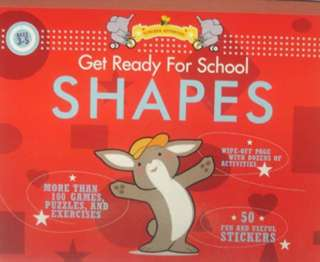 GET READY FOR SCHOOL-SHAPES ACTIVITY BOOK