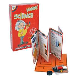 HANDY SCIENCE-MAGNETISM 6 EXPERIMENTS