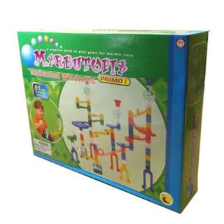 MARBLE ROLLER GAME 81PCS/SET