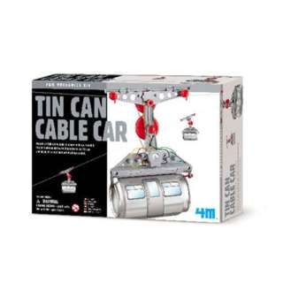 TIN CAN CABLE CAR REQUIRES 2 AAA BATTERIES