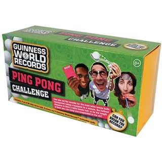 GUINNESS WORLD RECORDS PING PONG CHALLENGE