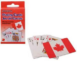 CANADA SOUVENIR FLAG PLAYING CARDS