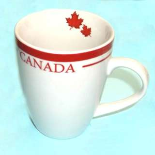 CANADA SOUVENIR MAPLE LEAF MUG 