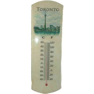 TORONTO SOUVENIR THERMOMETER -40 TO 50C