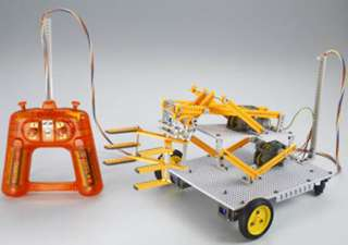 4 CHANNEL R/C ROBOT CONSTRUCTION SET