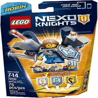 ULTIMATE ROBIN-NEXO KNIGHTS 75 PCS/SET