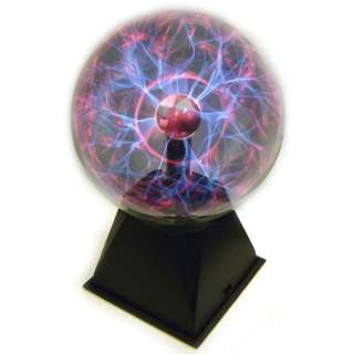 PLASMA BALL 6INCH WITH SOUND ACTIVATION