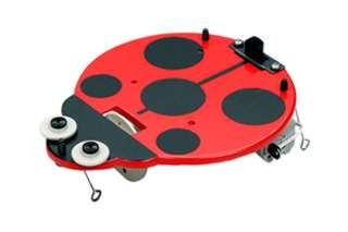 SLIDING LADYBUG VIBRATING ACTION 