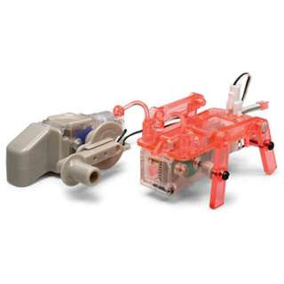 4 LEGGED WALKING ROBOT W/HAND GENERATOR