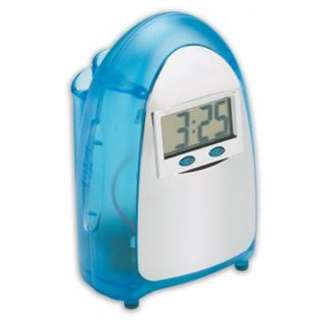 TABLE CLOCK DIGITAL WATER POWER SOURCE DISPLAY TIME-MONTH-DAY