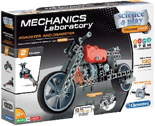 ROADSTER AND DRAGSTER-MECHANICS LABORATORY 130+ PARTS