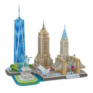 NEW YORK CITY LINE-3D PUZZLE 123PCS