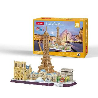 PARIS CITY LINE-3D PUZZLE 114PCS 