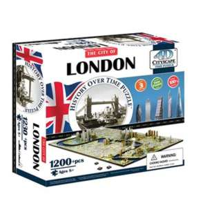 LONDON ENGLAND 4D TIME PUZZLE 1230+PCS