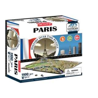 PARIS 4D TIME PUZZLE 1100+PCS
