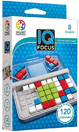 IQ FOCUS 120 CHALLENGES 1 PLAYER PUZZLE GAME