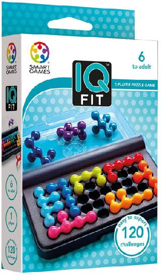 IQ FIT 120 CHALLENGES 1 PLAYER PUZZLE GAME