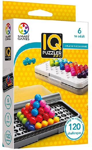 IQ PUZZLER PRO 120 CHALLENGES 1 PLAYER PUZZLE GAME
