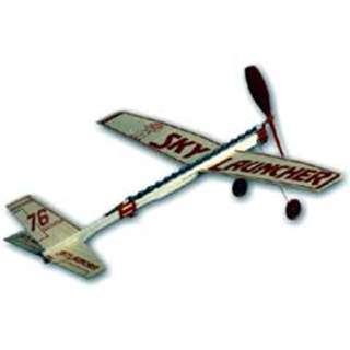 SKY LAUNCHER GLIDER-RUBBER POWER 17 INCH WING SPAN