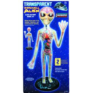 TRANSPARENT ALIEN ANATOMY MODEL KIT