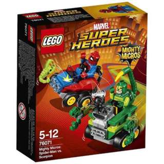 MIGHTY MICROS SPIDERMAN VS SCORPION  79PCS/SET