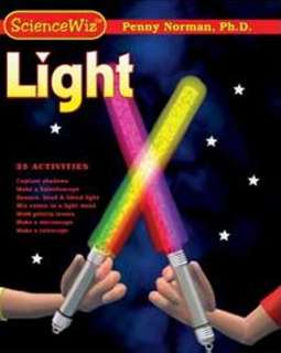 SCIENCEWIZ LIGHT BOOK AND KIT