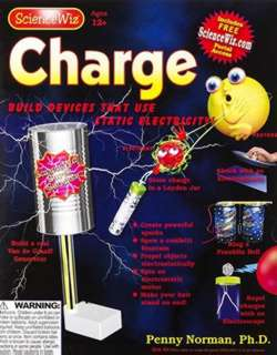 SCIENCEWIZ CHARGE-BUILD A REAL VAN DE GRAAFF GENERATOR