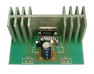 STEREO POWER AMPLIFIER 44W 