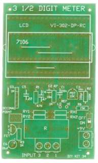LCD PANEL METER 3-1/2 DIGIT GENERAL PURPOSE