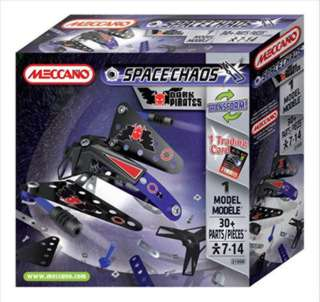MECCANO SPACECHAOS-DARK PIRATES DRONE SHIP 30 PARTS 1 MODEL