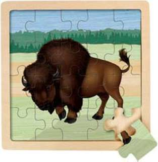JIGSAW PUZZLE BISON 7.5X7.5 ASSORTED STYLES