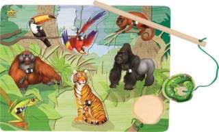 PUZZLE MAGNETIC RAINFOREST PICKUP PCS WITH MAGNETIC WAND