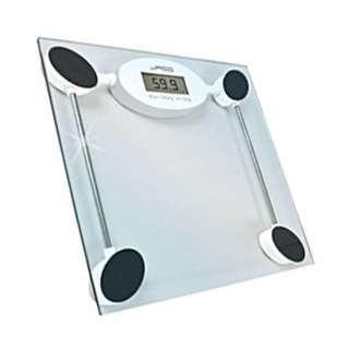 WEIGHING SCALE DIGITAL-BATHROOM MAX WEIGHT CAPACITY:180KG