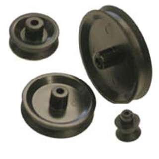 PULLEY SET ECONOMY FITS 2MM & 3MM SHAFT DIAMETER 4PCS/SET