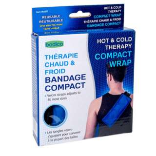 COMPACT WRAP HOT & COLD THERAPY ADJUST TO FIT MOST SIZES