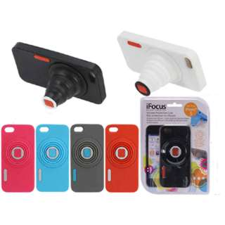IPHONE5 CASE SILICONE WITH RETRACTABLE STAND ASSORTED COLOR
