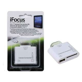 CAMERA CONNECTION KIT FOR IPAD 2-IN-1 USB/SD CARD SELECTOR