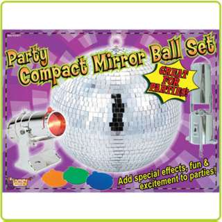 MIRROR BALL 8IN KIT 
