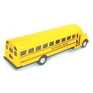 BUS SCHOOL YELLOW 4.5INCH 
