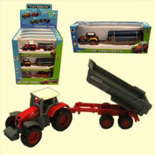 FARM TRACTOR DIE CAST 