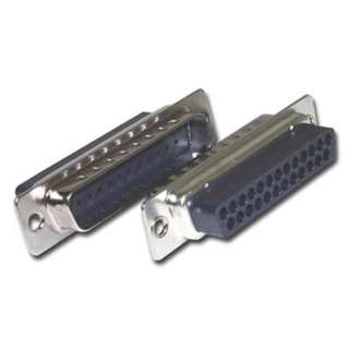 DB25M CRIMP TIN W/PINS 