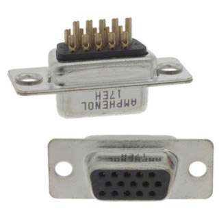 CONNECTOR DB HIGH DENSITY SOLDER